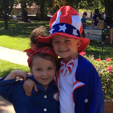 Uncle Sam and Rosie