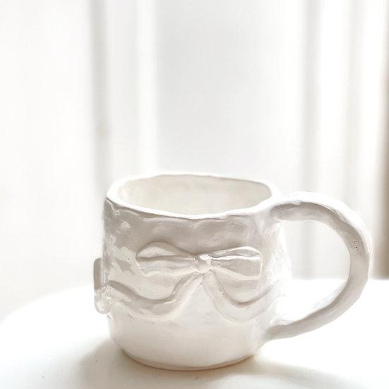 Chunky mug - ribbon
