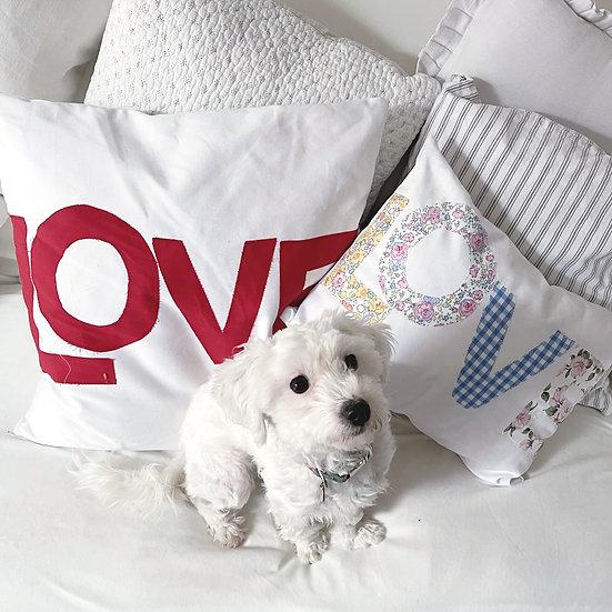 LOVE cushion cover