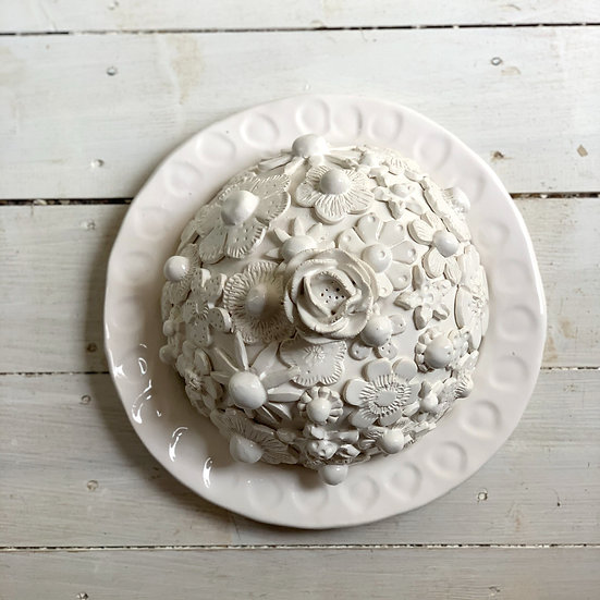Flower cheese dome