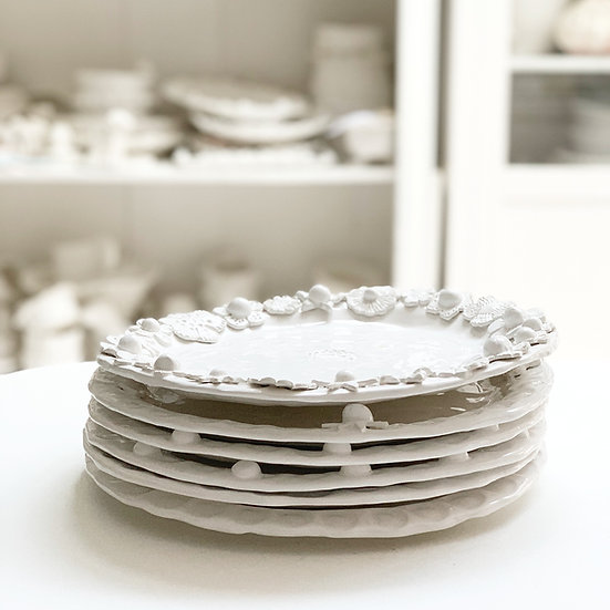 Round dinner plate - medium