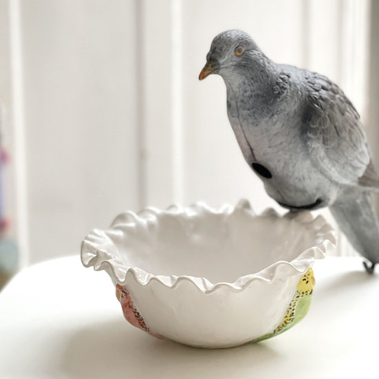 Budgie serving dish