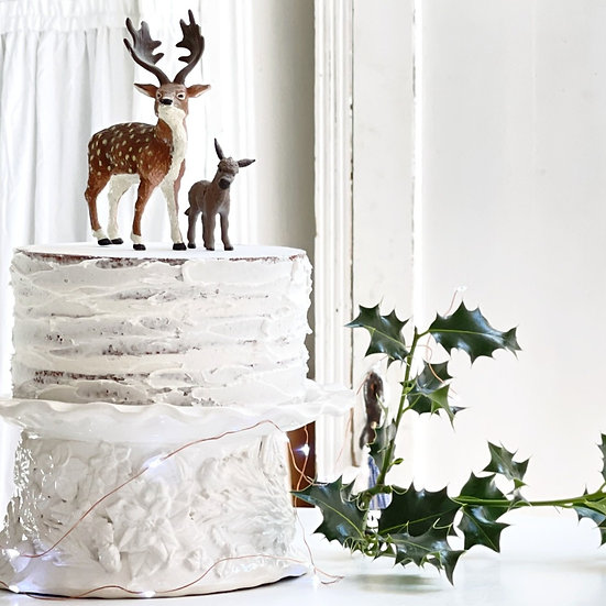 Christmas Wreath cake stand