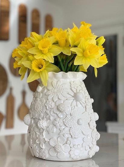 Full flower vase - small, med, large, jumbo