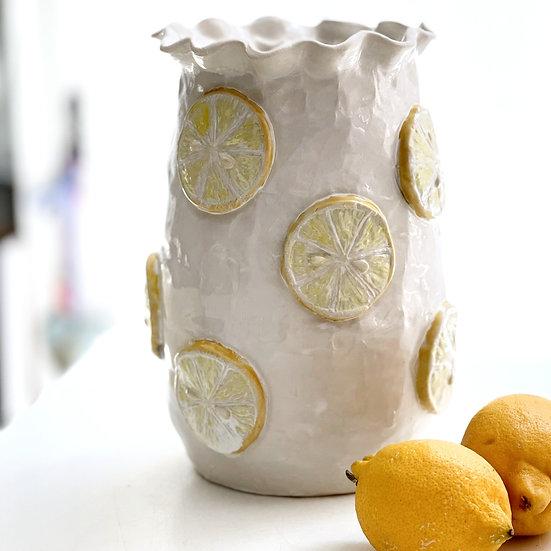 Lemon vase - small, med, large, jumbo