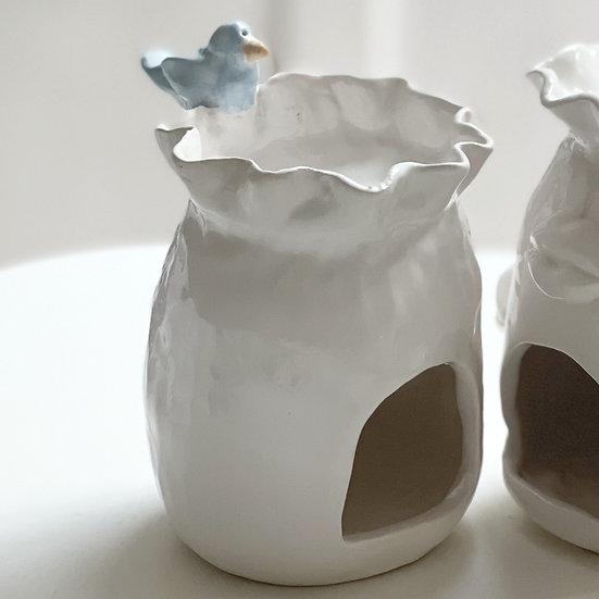 Wax/oil burner - bird