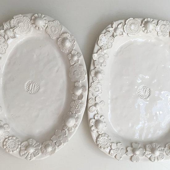 Full flower platter - med, large