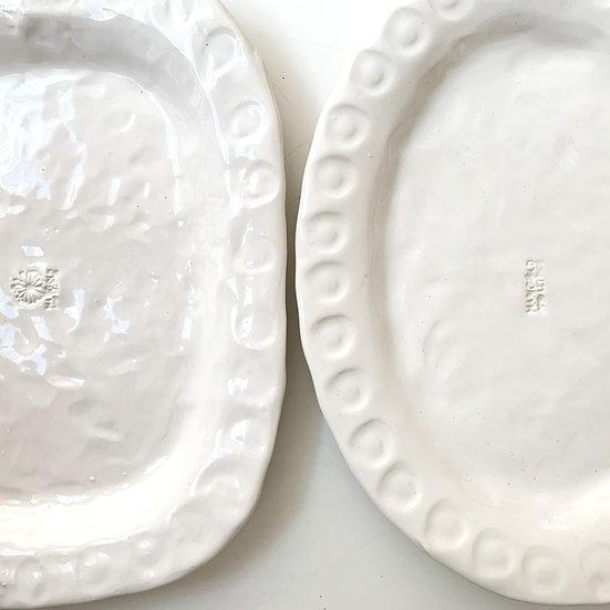 Chunky platter - med, large