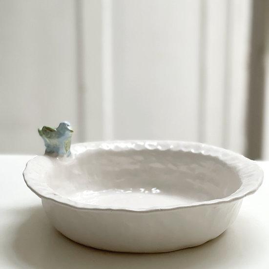 Serving bowl - bird