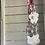 Thumbnail: Flower cascade wind chime / hanging decoration