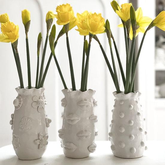 Narrow top vase