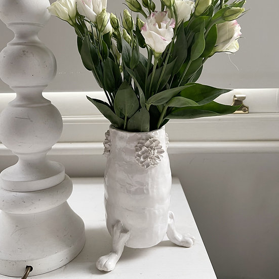 Vase on paws - small, med, large, jumbo