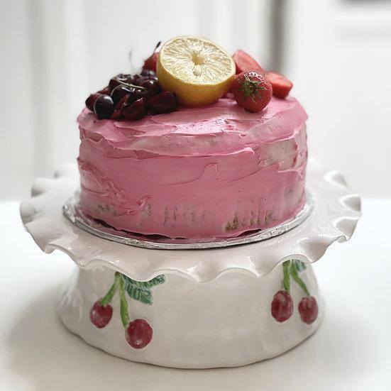 Cake stand - cherry