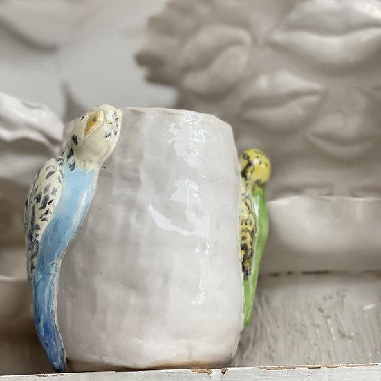 'The Budgie' vase