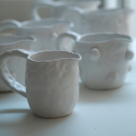 Chunky plain jug (size options)