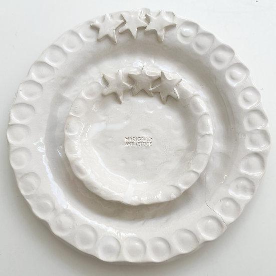 Christmas Star plates