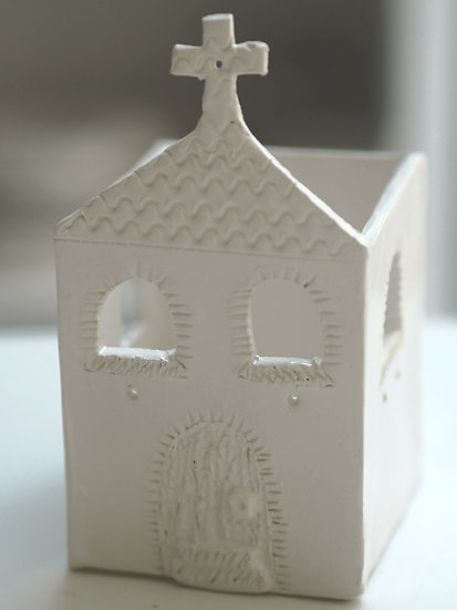 Tealight holder - church