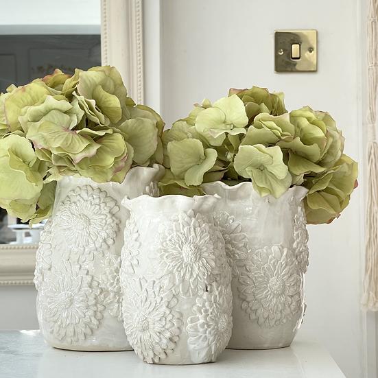 Flowers-in-bloom vase