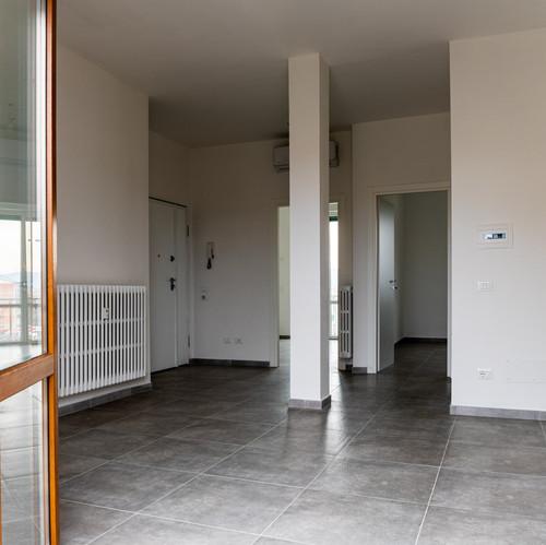 Interno appartamento lavori finiti Scand
