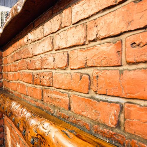 dettaglio muro Ristorante Centro Storico