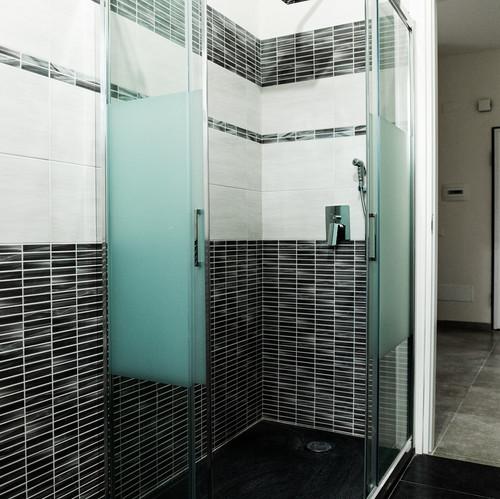 Doccia bagno appartamento lavori finiti