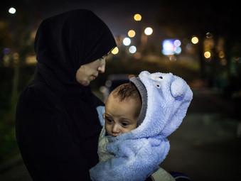 Refugee baby | Paris