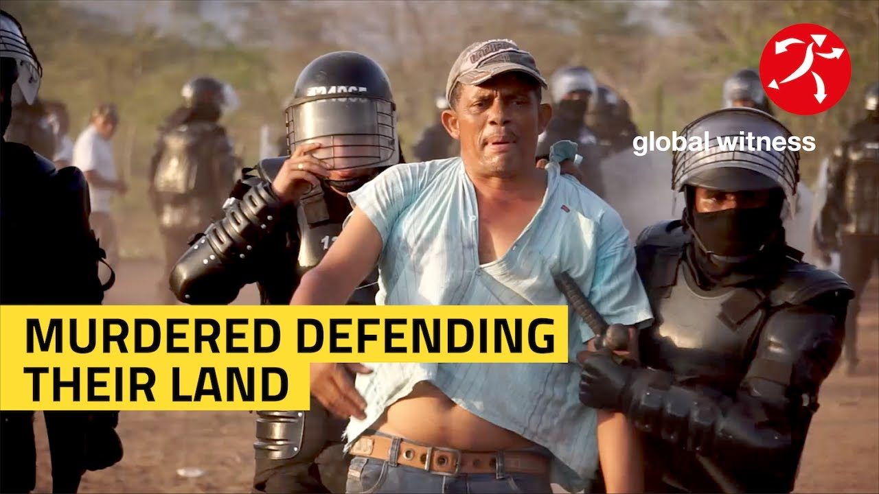 Murdered defending their land: protect the defenders