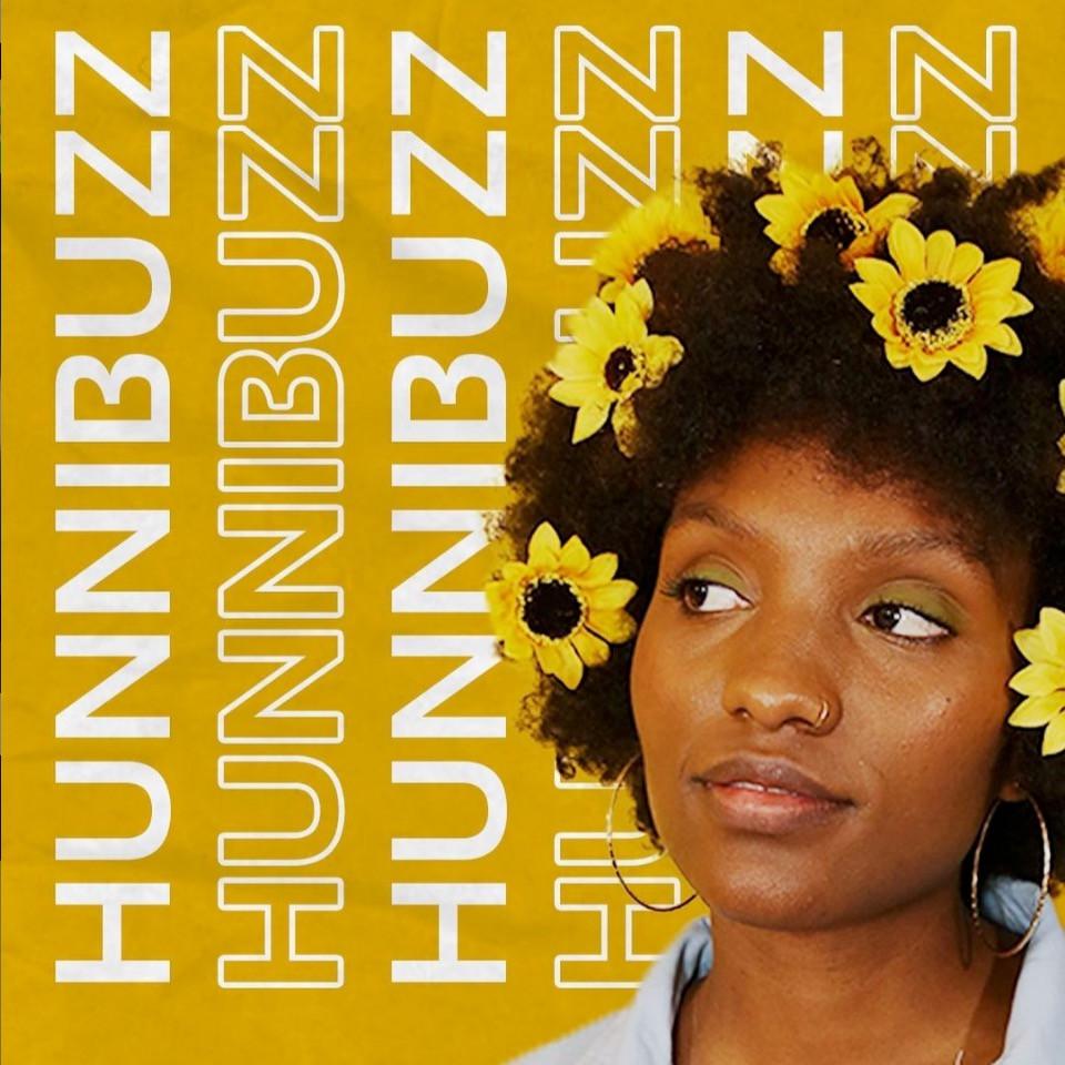 logo, hunnibuzz, graphic company, black female business owner
