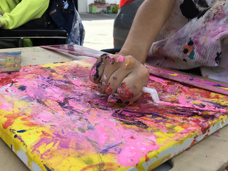 Tips for Art Making with Tactile Aversion