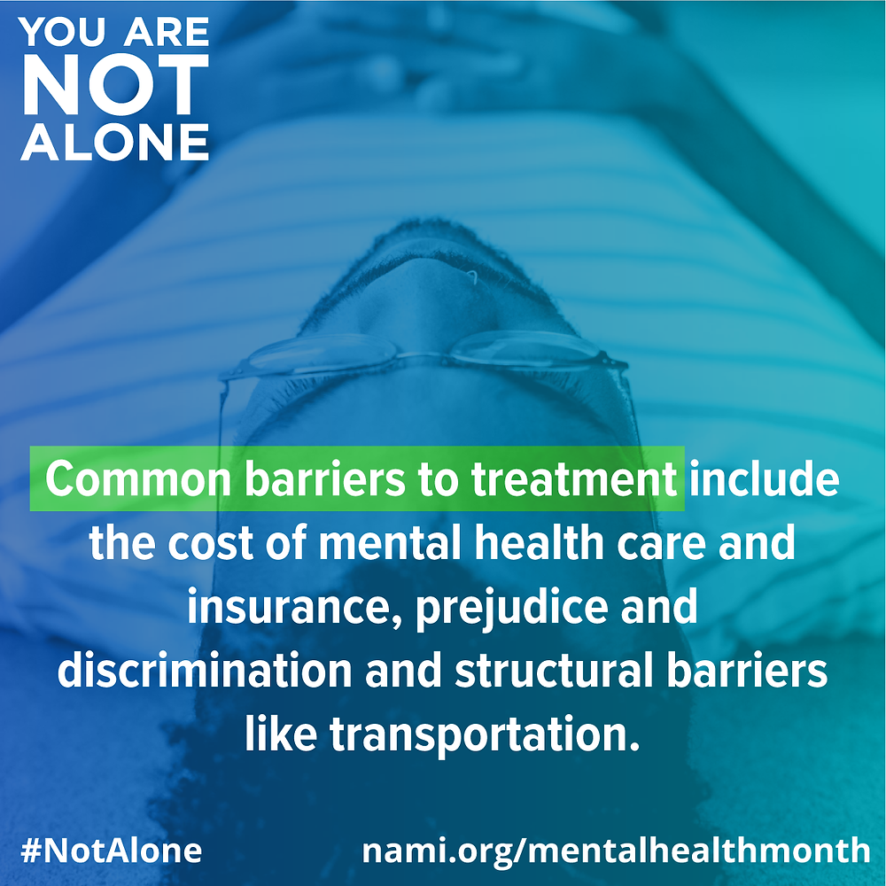 NAMI you are not alone mental health awareness month info