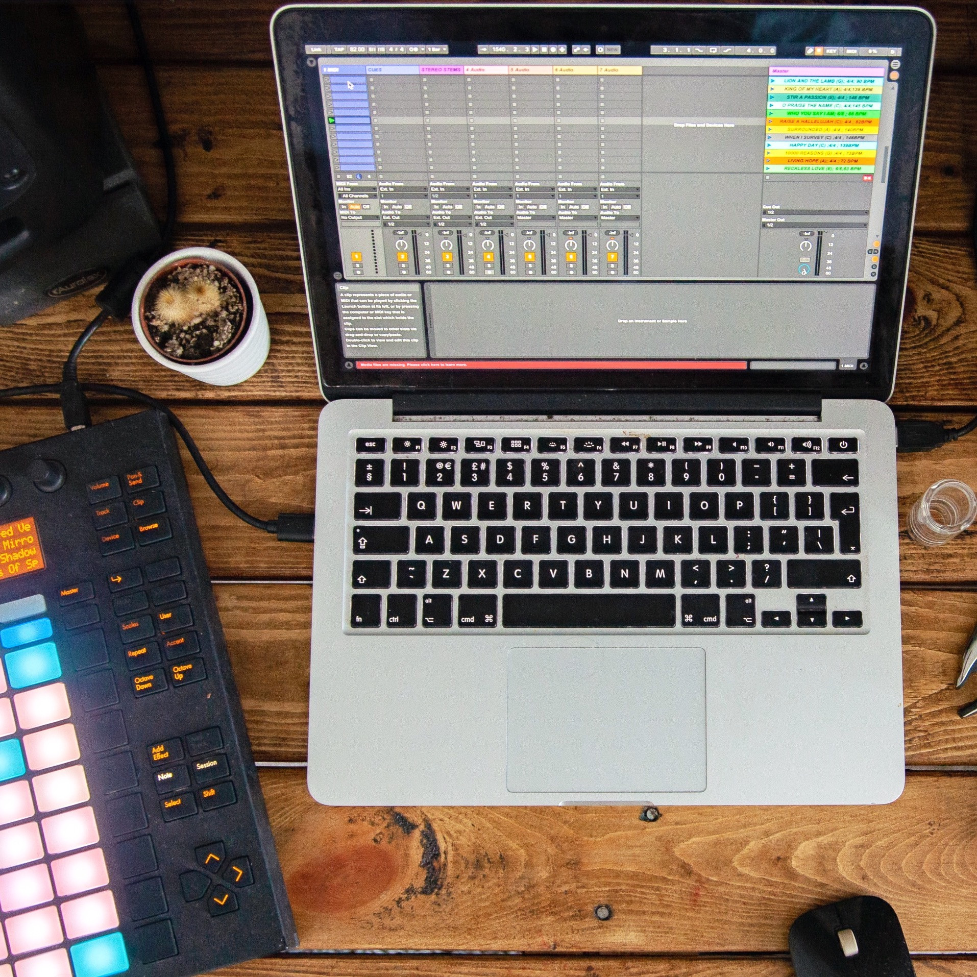 Making Music with Ableton Live