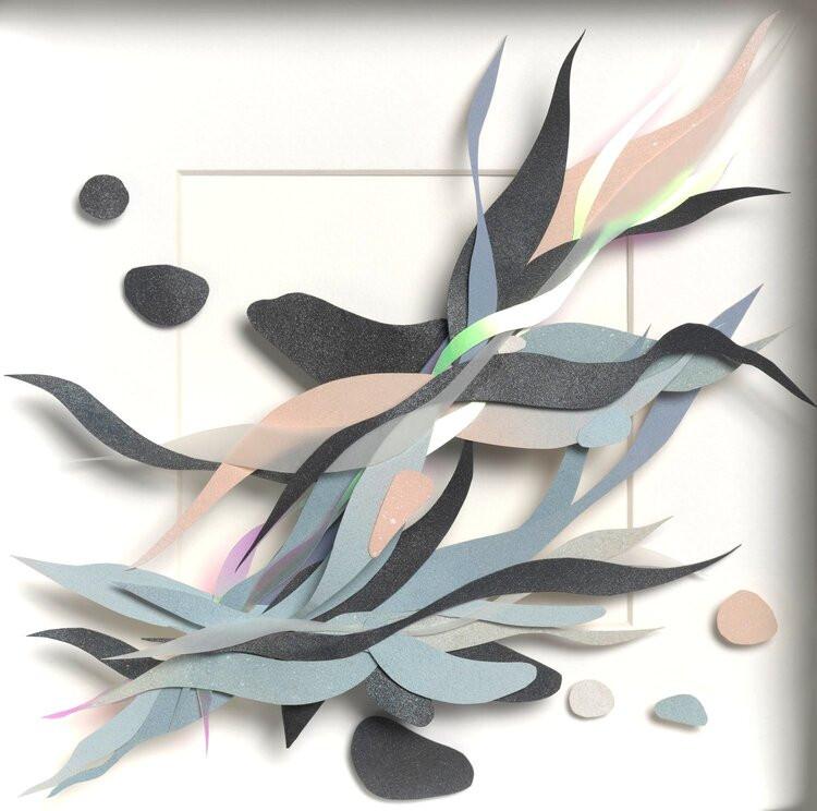 paper fabric sculpture Aimee Thieu