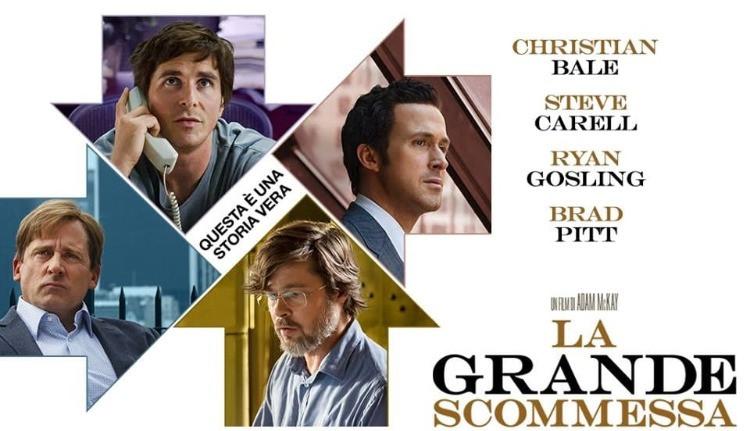 La grande scommessa (The Big Short) è un film del 2015 diretto da Adam McKay, tratto dal libro di Michael Lewis Il grande scoperto