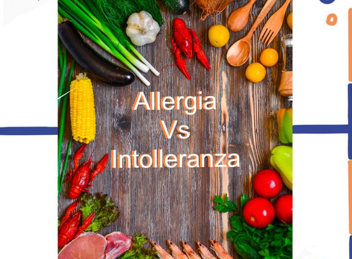 Allergie vs Intolleranze alimentari