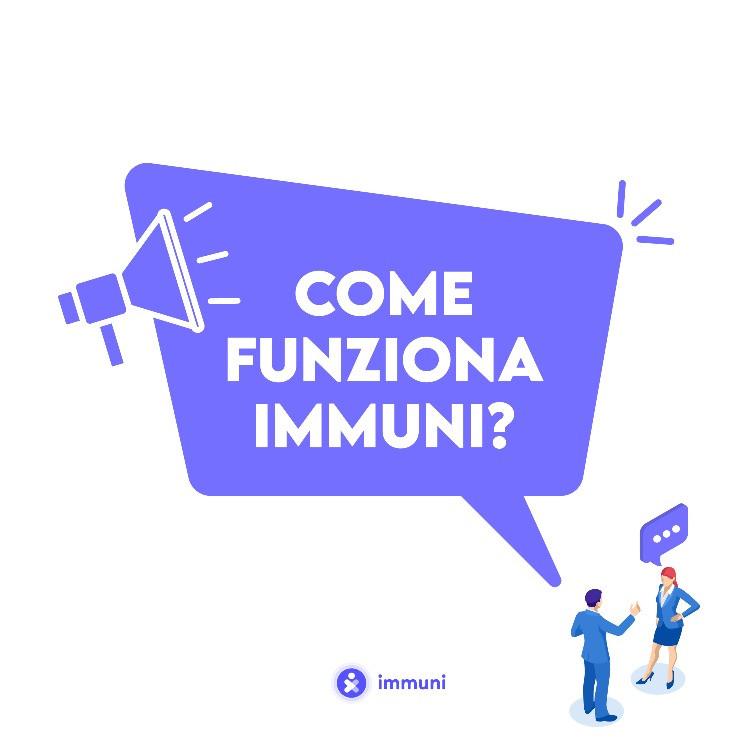 Il funzionamento dell'app di contact tracing presente in Italia