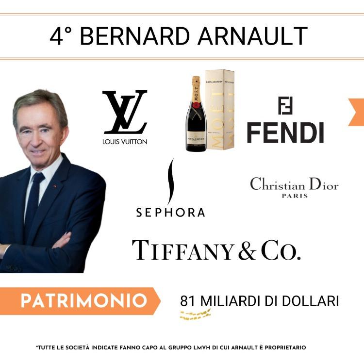 4° Posto - Bernard Arnault
