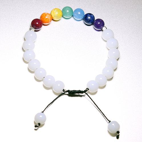 White Chakra Healing Bracelet