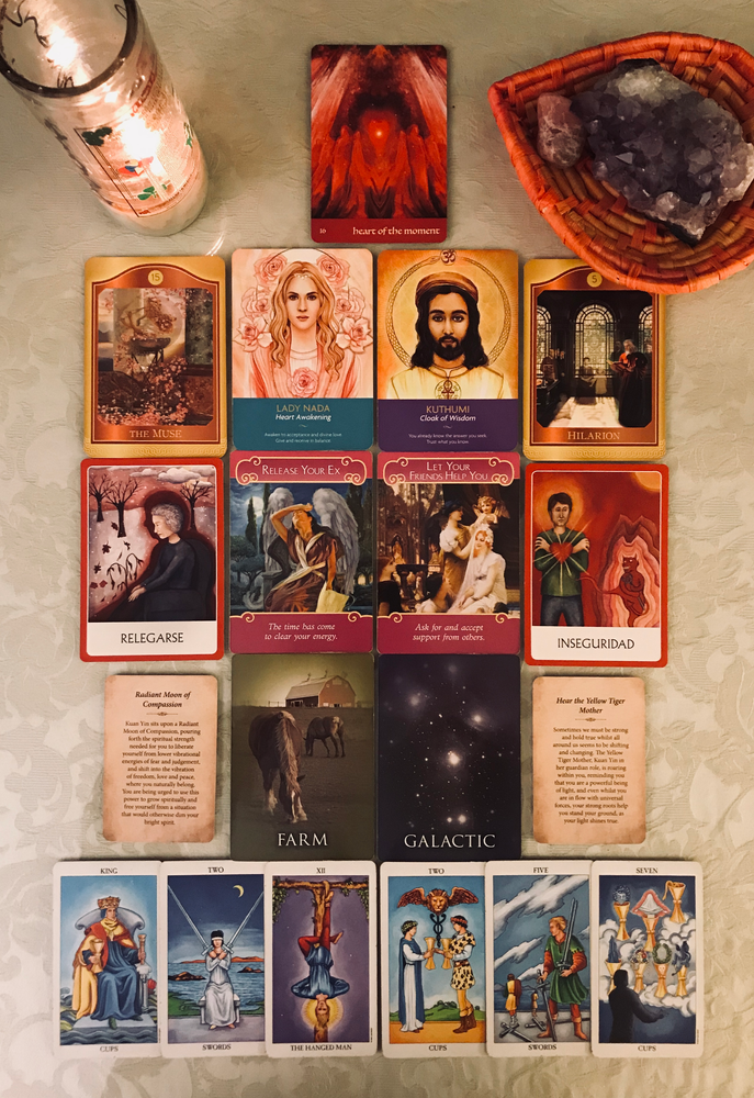 Twin Flames - Reading from April 1 to April 8, 2019