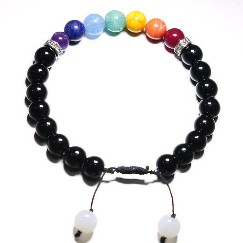 Chakra Healing Bracelet with Sparkles
