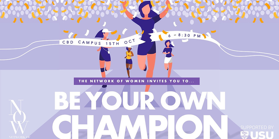 Be Your Own Champion: End of Year Cocktail Event