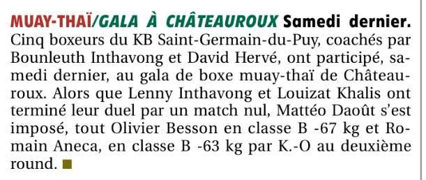 Gala Châteauroux