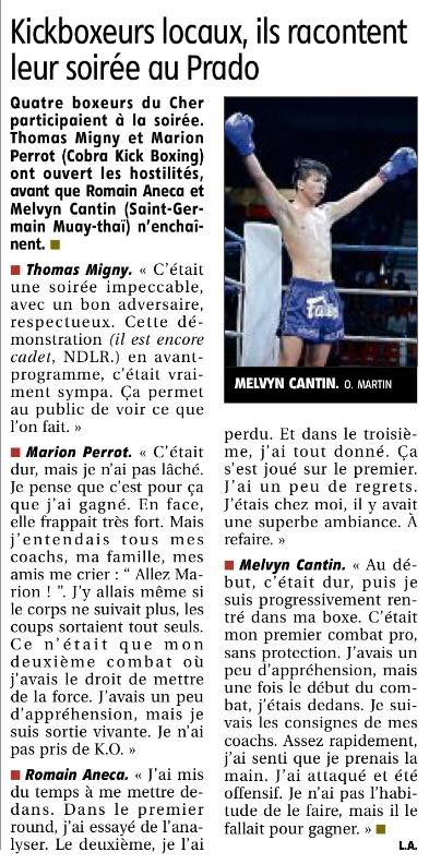 Nuit du kick boxing 3