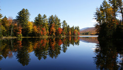 Fall Reflections #2, Vermont, USA