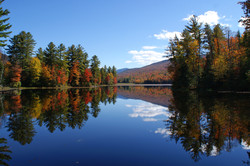 Fall Reflections, Vermont, USA