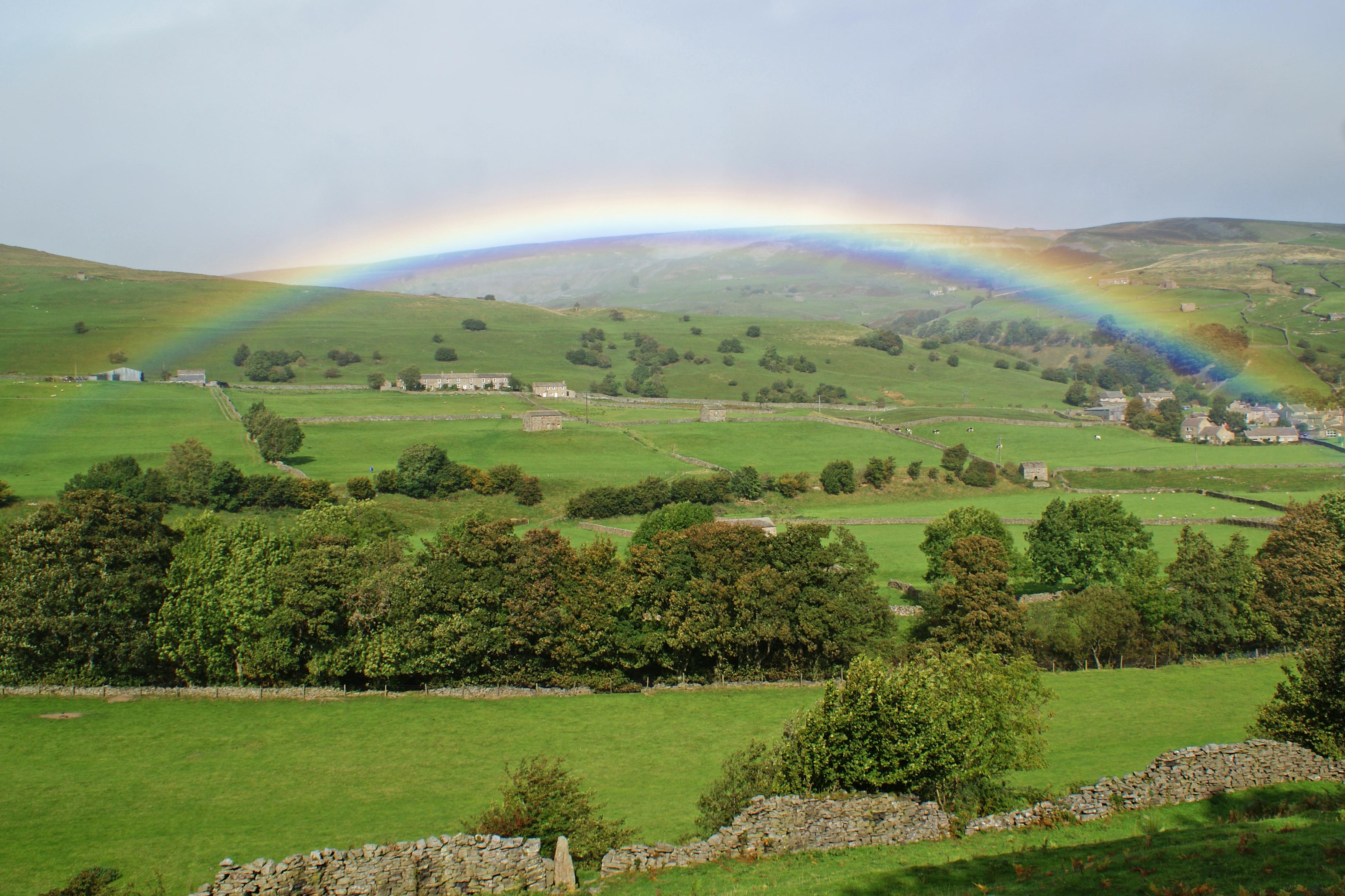 Yorkshire Dales Rainbow, UK