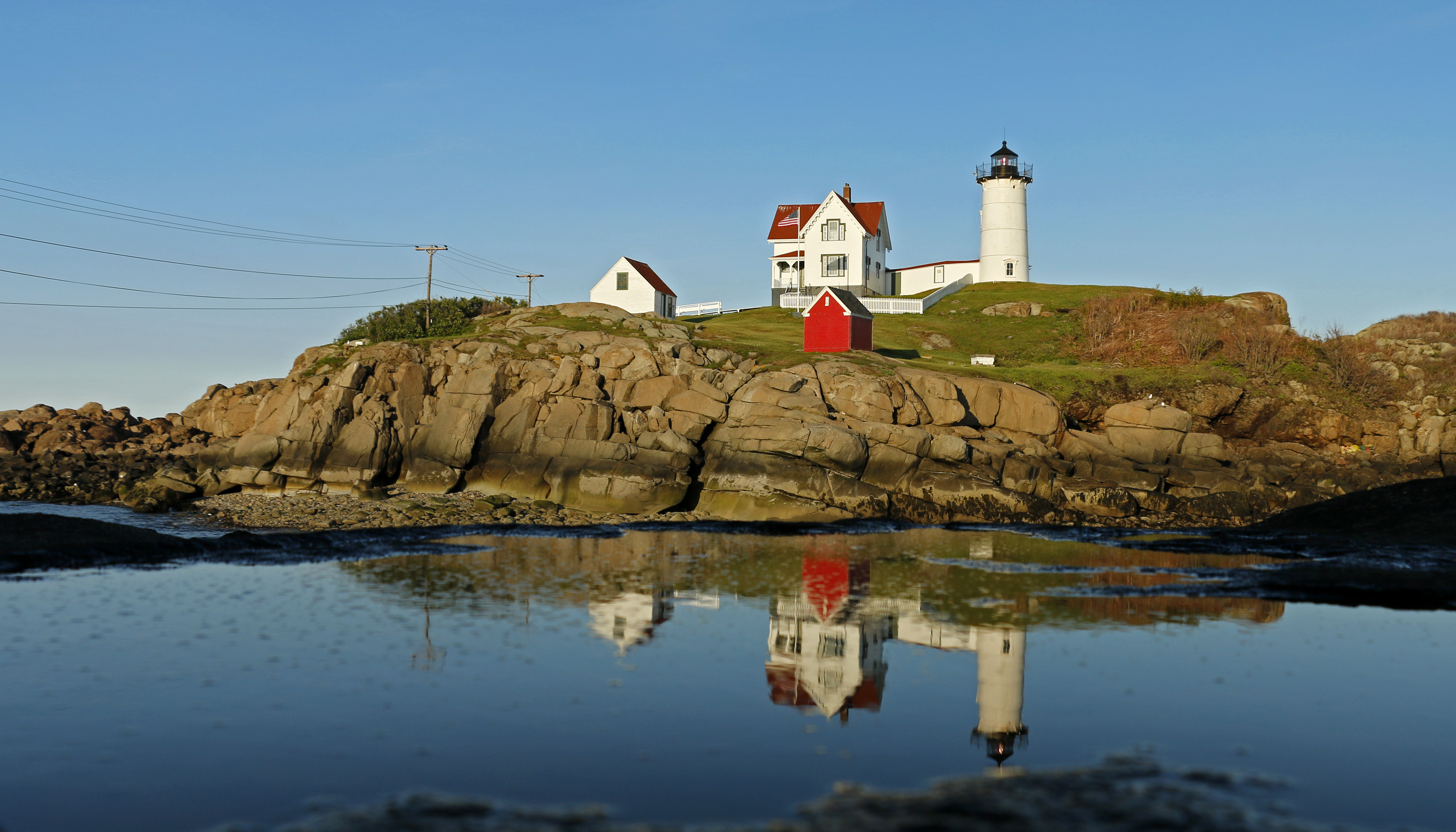 Lighthouse Reflections - Maine, USA