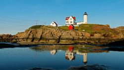 Lighthouse Reflections - Maine, USA
