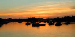 Sunset glow, Jews Bay, Bermuda