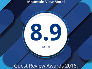 Thanks from the team at Mountain View Motel