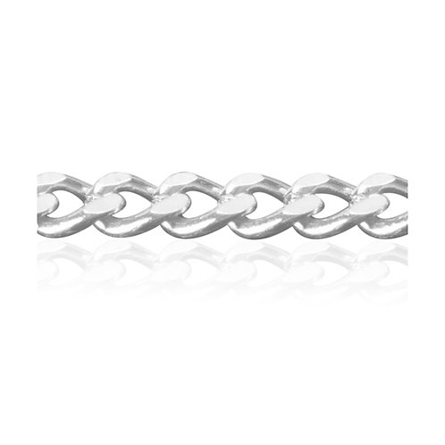 Diamond Cut Curb Chains 1.5mm